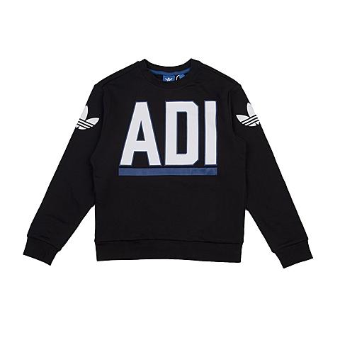 adidas阿迪三叶草2016新款专柜同款大童男套头衫AJ0271