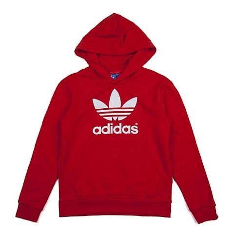 adidas阿迪三叶草新款专柜同款大童男套头衫AO0073