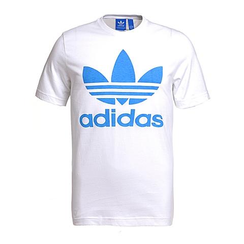 adidas阿迪三叶草新款男子三叶草系列短袖T恤AX7072