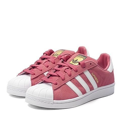 adidas阿迪三叶草新款专柜同款女大童SUPERSTAR休闲鞋F37137