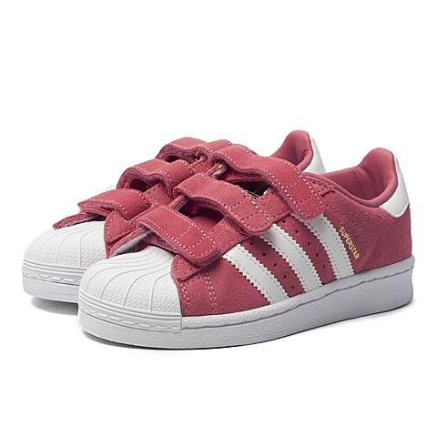 adidas阿迪三叶草新款专柜同款女小童SUPERSTAR休闲鞋S74908