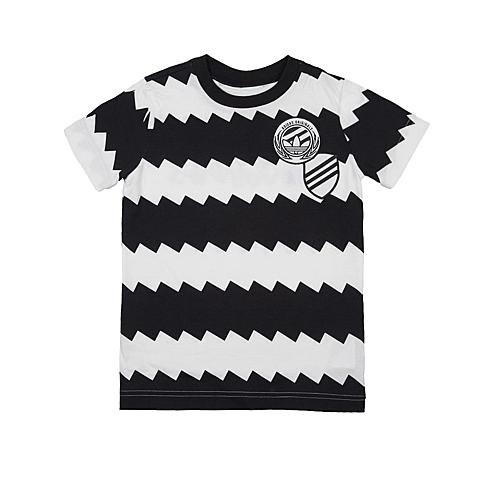 adidas阿迪三叶草2016新款专柜同款男大童短袖T恤AJ0279
