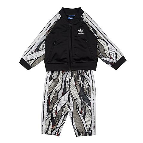 adidas阿迪三叶草新款专柜同款男婴童长袖套服AJ0220