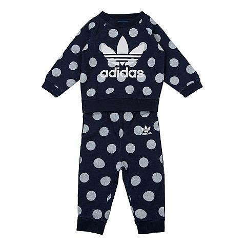 adidas阿迪三叶草2016新款专柜同款女婴童长袖套服AJ0242