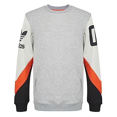 adidas阿迪三叶草新款男子三叶草系列套头衫AJ7884