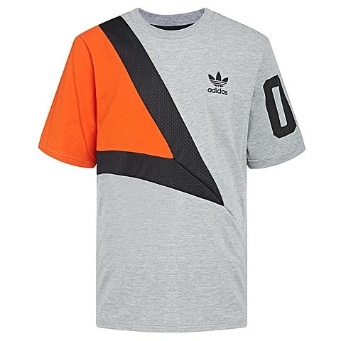 adidas阿迪三叶草新款男子三叶草系列短袖T恤AJ7830