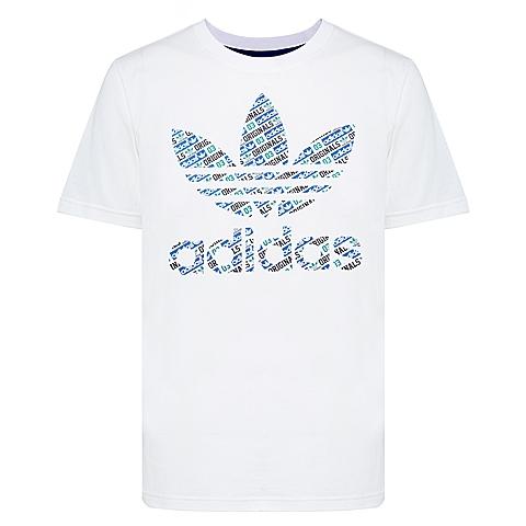 adidas阿迪三叶草新款男子短袖T恤AO0560