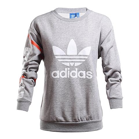 adidas阿迪三叶草新款女子三叶草系列针织套衫AP8285