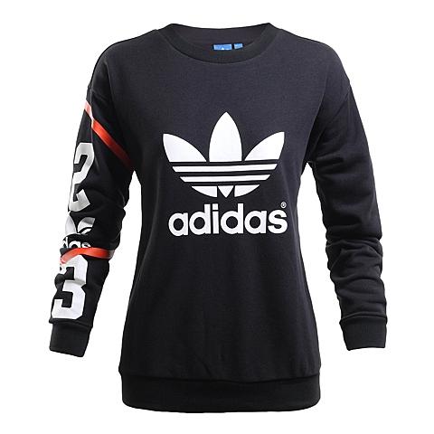adidas阿迪三叶草新款女子三叶草系列针织套衫AP8301