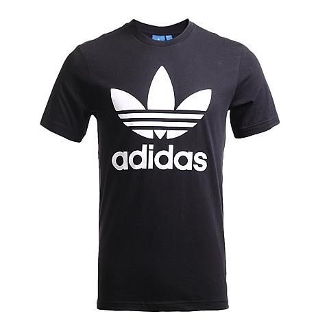 adidas阿迪三叶草2017年新款男子三叶草系列短袖T恤AJ8830