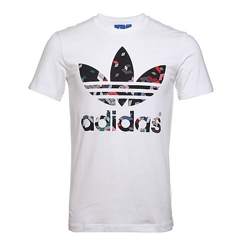 adidas阿迪三叶草新款男子三叶草系列短袖T恤AO3005