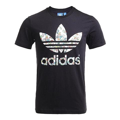 adidas阿迪三叶草新款男子三叶草系列短袖T恤AJ7108