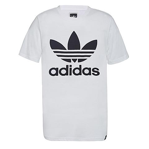 adidas阿迪三叶草2017年新款男子三叶草系列短袖T恤AJ8828