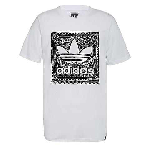 adidas阿迪三叶草新款男子三叶草系列短袖T恤S93421