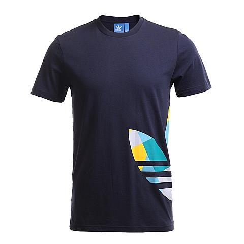 adidas阿迪三叶草新款男子短袖T恤AJ7122