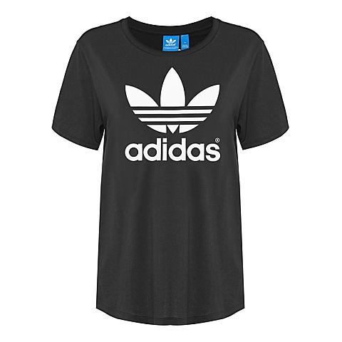 adidas 阿迪三叶草2016年新款女子休闲系列短袖T恤AJ8351