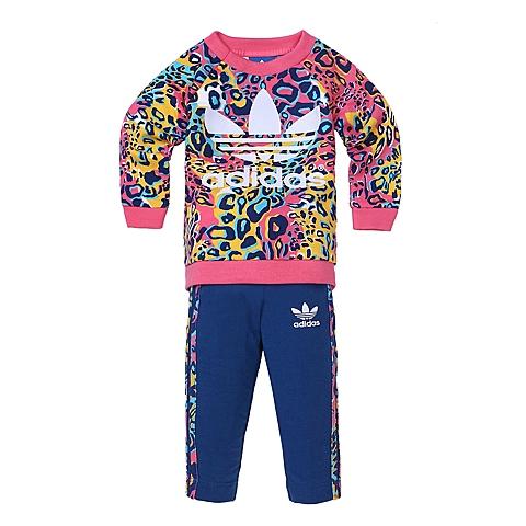 adidas阿迪三叶草新款专柜同款女婴童长袖套服AI9997