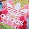 adidas阿迪三叶草2016新款专柜同款女婴童短袖套服AJ0024