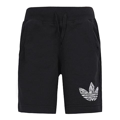 adidas阿迪三叶草2016新款专柜同款男大童针织短裤AJ0302