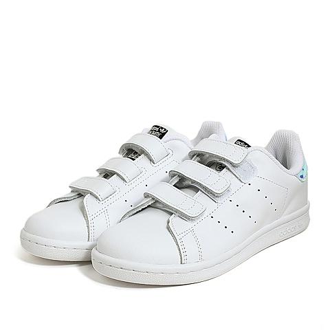 adidas阿迪三叶草新款专柜同款小童STAN SMITH休闲鞋AQ6273