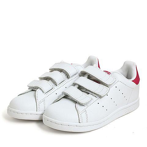 adidas阿迪三叶草2017年新款专柜同款女小童STAN SMITH CF C休闲鞋B32706
