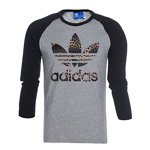 adidas阿迪三叶草新款男子三叶草系列T恤AJ6971