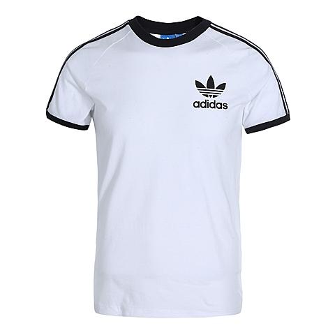 adidas阿迪三叶草新款男子三叶草系列T恤AJ8833
