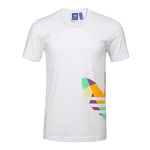 adidas阿迪三叶草新款男子三叶草系列T恤AJ7124