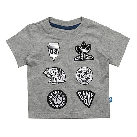 adidas阿迪三叶草2016新款专柜同款男婴童短袖T恤AJ0230