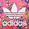 adidas阿迪三叶草2016年新款女子三叶草系列T恤AJ8142