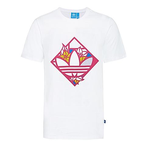 adidas阿迪三叶草2016年新款女子三叶草系列短袖T恤AJ8922