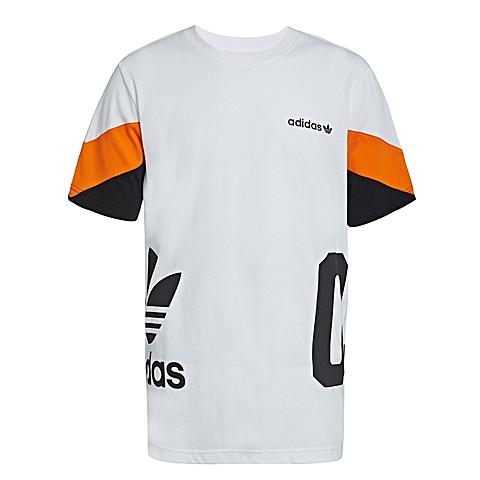 adidas阿迪三叶草新款男子三叶草系列短袖T恤AO0541