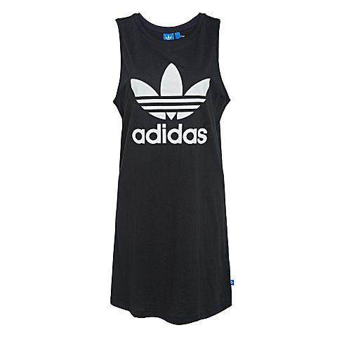 adidas阿迪三叶草新款女子三叶草系列连衣裙AJ8160