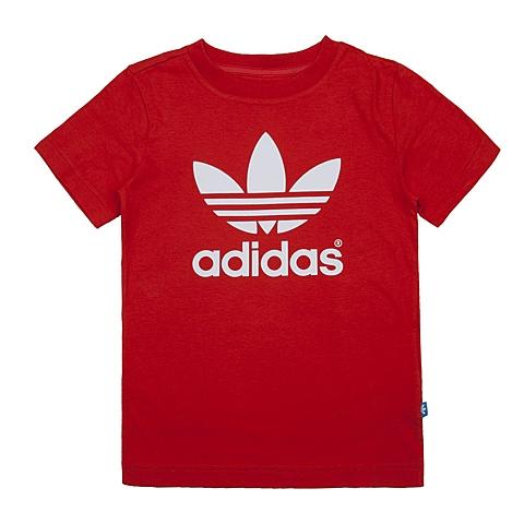 adidas阿迪三叶草新款专柜同款男大童短袖T恤AO0061