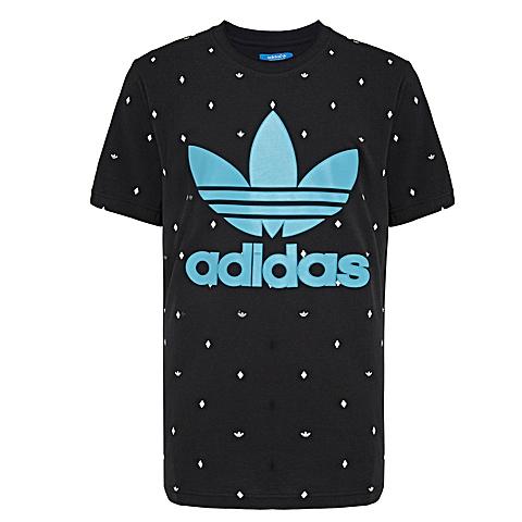 adidas阿迪三叶草新款男子三叶草系列T恤AO0549