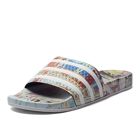 adidas阿迪三叶草新款男子三叶草系列拖鞋S78681