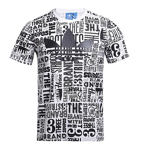 adidas阿迪三叶草2016新款男子三叶草系列T恤AO0937