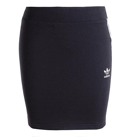 adidas阿迪三叶草新款女子三叶草系列短裙AJ8437