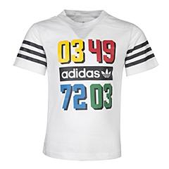 adidas阿迪三叶草2016新款专柜同款男婴童短袖T恤S95927