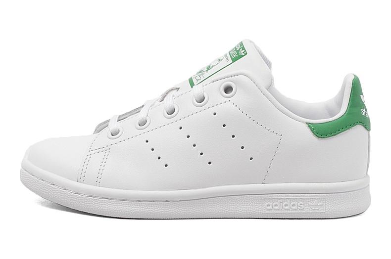 adidas阿迪三叶草新款专柜同款小童stan smith休闲鞋ba8375