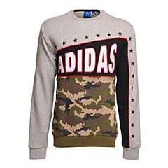 adidas阿迪三叶草新款专柜同款男童套头衫S96027