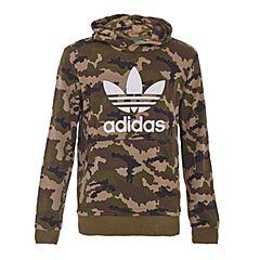 adidas阿迪三叶草新款专柜同款男童套头衫S96095