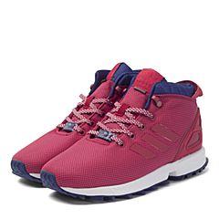 adidas阿迪三叶草新款专柜同款女大童ZX FLUX休闲鞋S76268