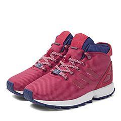 adidas阿迪三叶草新款专柜同款女小童ZX FLUX休闲鞋S76270