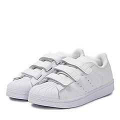 adidas阿迪三叶草2017新款小童SUPERSTAR FOUNDATION CF C休闲鞋B25727