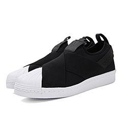 adidas阿迪三叶草新款女子SUPERSTAR经典贝壳头系列休闲鞋BZ0112