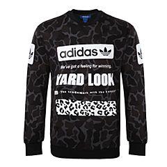 adidas Originals阿迪三叶草新款男子STREET CAMO CR系列套头衫BS2073