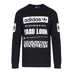 adidas Originals阿迪三叶草男子GRAPHIC CREW SW套头衫CD1717