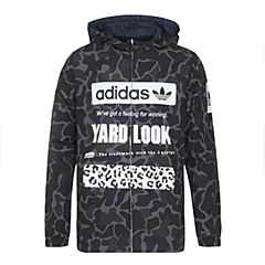 adidas Originals阿迪三叶草新款男子GRAPHIC REV WIN系列夹克CD1714