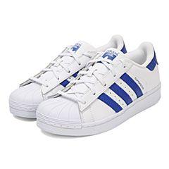 adidas阿迪三叶草男小童SUPERSTAR C休闲鞋BZ0371